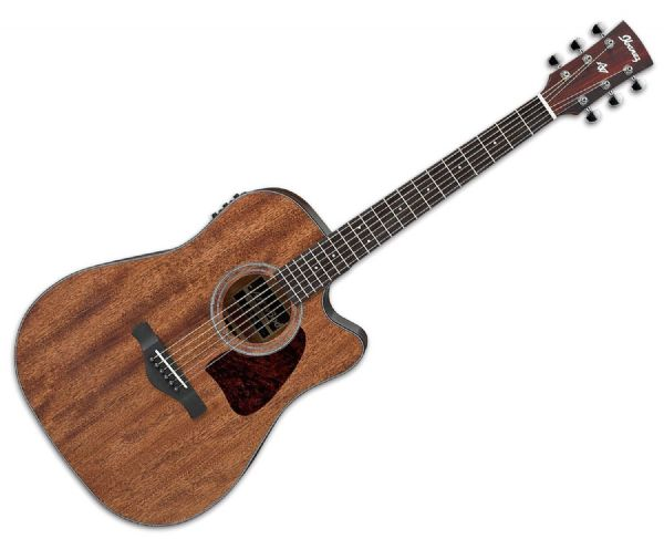 Ibanez AW54CE-OPN Artwood Electro Acoustic Guitar, Solid Top